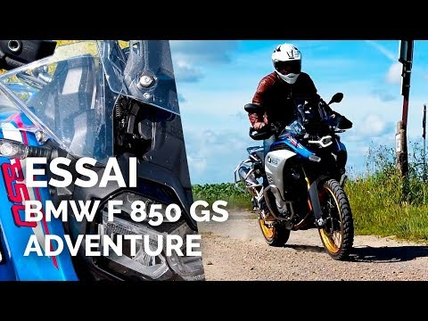 Essai BMW F 850 GS Adventure (2019)