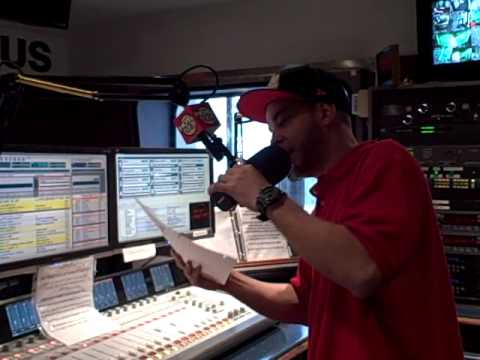 Peair Carrera. Biz at HOT 97 newyork radio live on the air wit MONSE