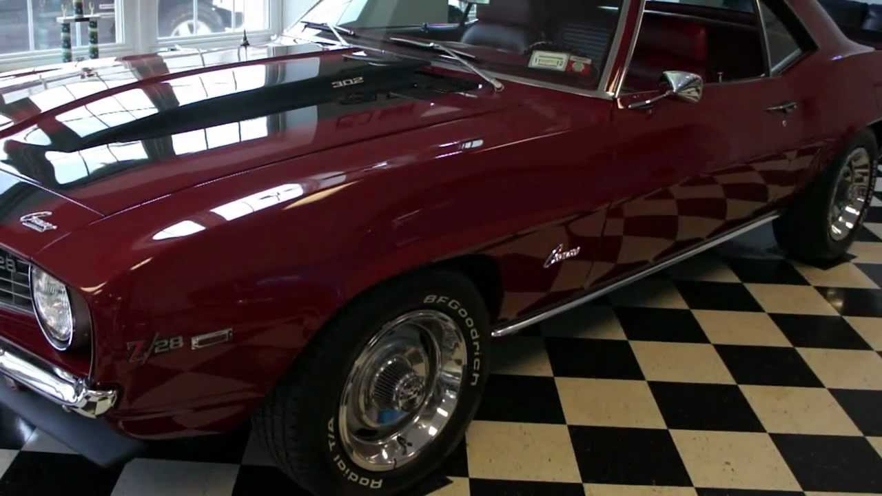 ~~SOLD~~1969 Camaro Z28 For Sale~Matching 327/290~4 Speed~X77~Body Of  Restoration~