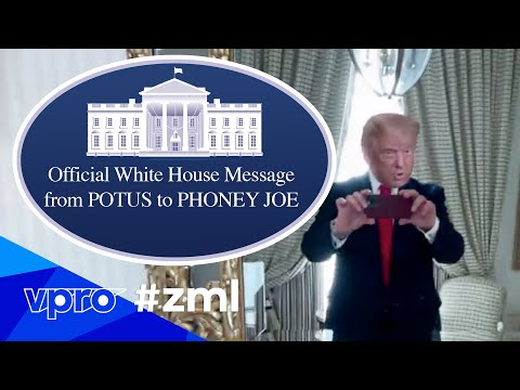 Official Message from Donald Trump to Joe Biden (White House tour)