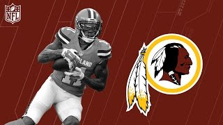 Terrelle Pryor Welcome to the Washington Redskins! | NFL | Free Agent Highlights