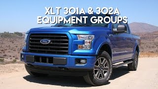Ford F-150 XLT 301A & 302A Comparison