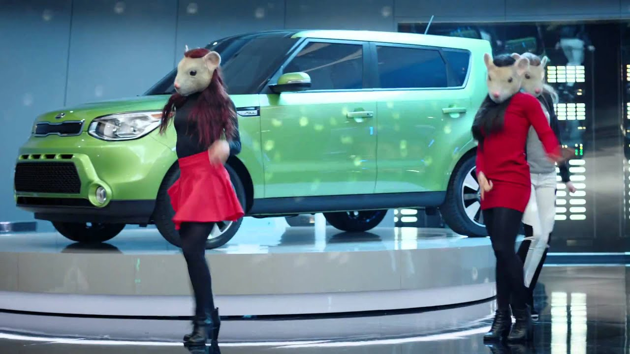 "Kia Soul Commercial >> 2015 Kia Soul EV Hamster Dance – Featuring ""Animals"" by Maroon 5 #HamstarDance - YouTube"
