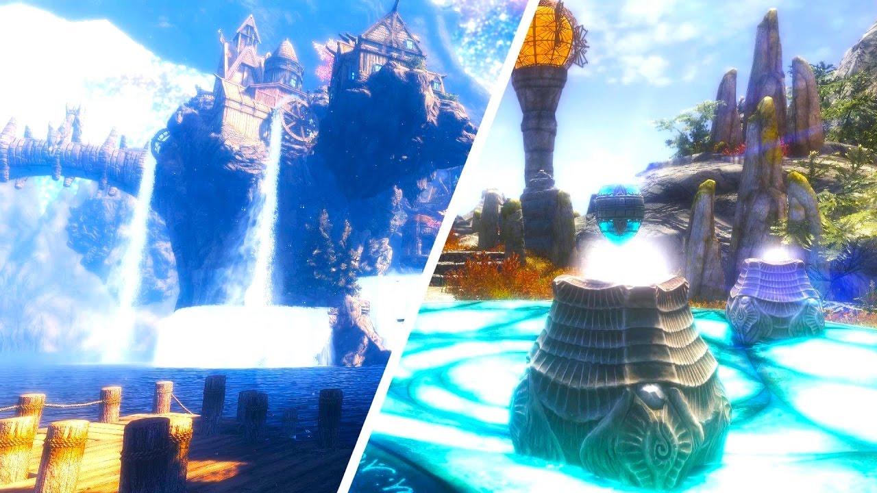 Voyage to the Dreamborne Isles at Skyrim Nexus - mods and