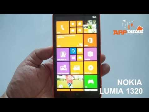 Appdisqus Review : รีวิว Nokia Lumia 1320 (เครื่องขายไทย)
