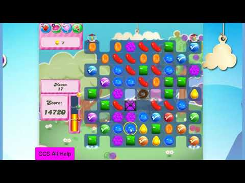 Candy Crush Saga Level 2825 NO BOOSTERS Cookie