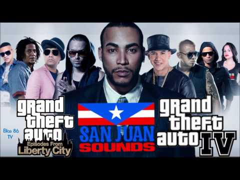 Grand Theft Auto: Episodes From Liberty City & Grand Theft Auto: IV | San Juan Sounds Radio Full