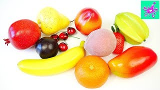 Learn Names Of Fruits | Funny Learning Of Fruits | Learn Names Of Fruits | Learn Fruit