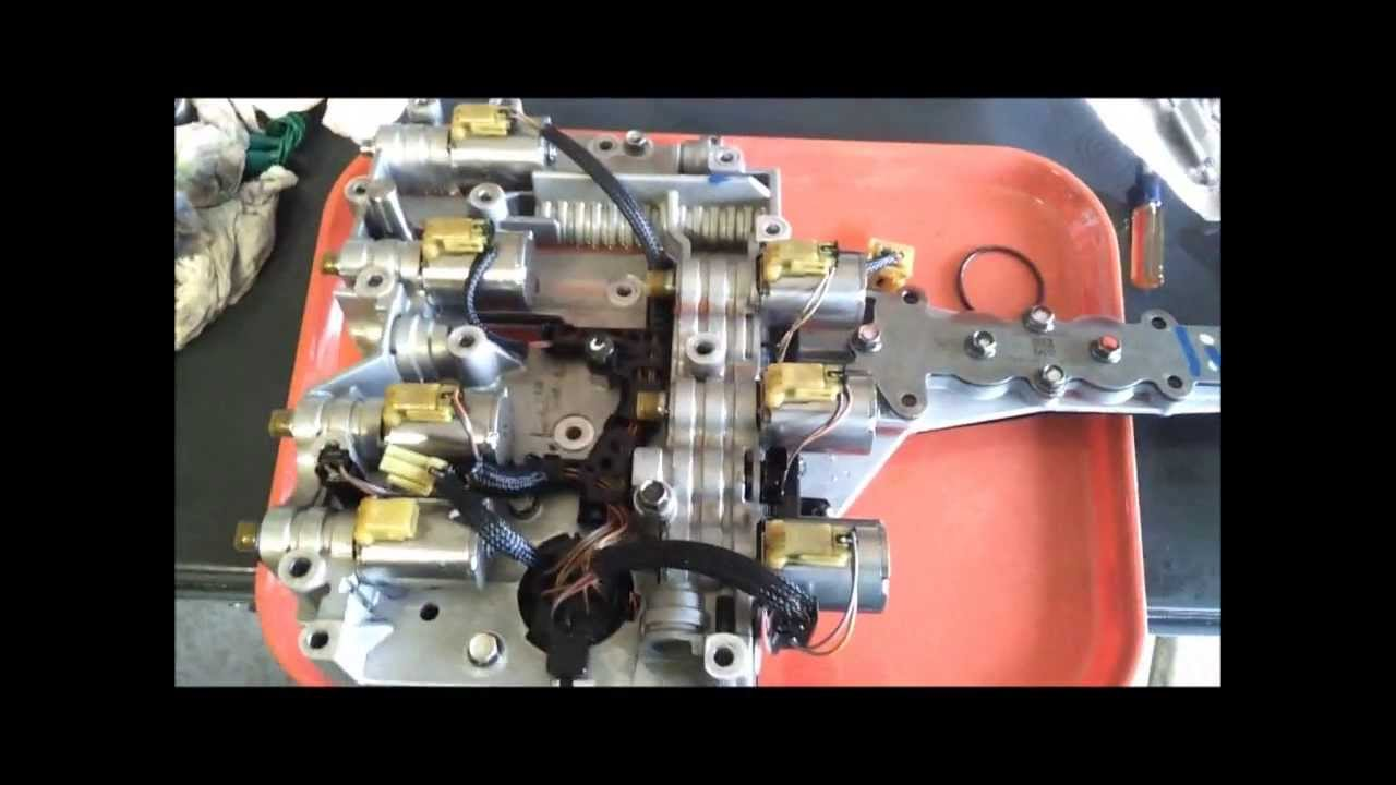 FORD Superduty ~5R110W Transmission~ Pressure Control Solenoid Replacement  YouTube