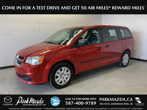 RED 2015 Dodge Grand Caravan  Review   - Park Mazda