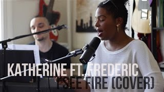 "Katherine A. Hernandez ft. Frederic Casimir - ""I See Fire"" (Ed Sheeran cover) 