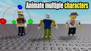 How to Animate Multiple Characters - Roblox Animation Tutorial Part 4