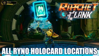 🏆Ratchet & Clank (PS4) Todas as Cartas RINO/All RYNO Holocard Locations🏆