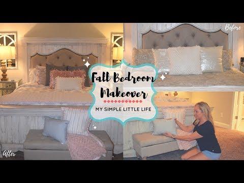 New Fall Bedding Overhaul/ Home Goods Comforter Set/ Bedroom Makeover // MY SIMPLE LITTLE LIFE