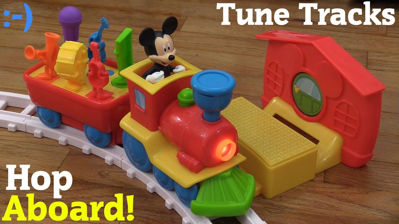 Toy Trains for Toddlers and Kids: Mickey Mouse's Tune ...