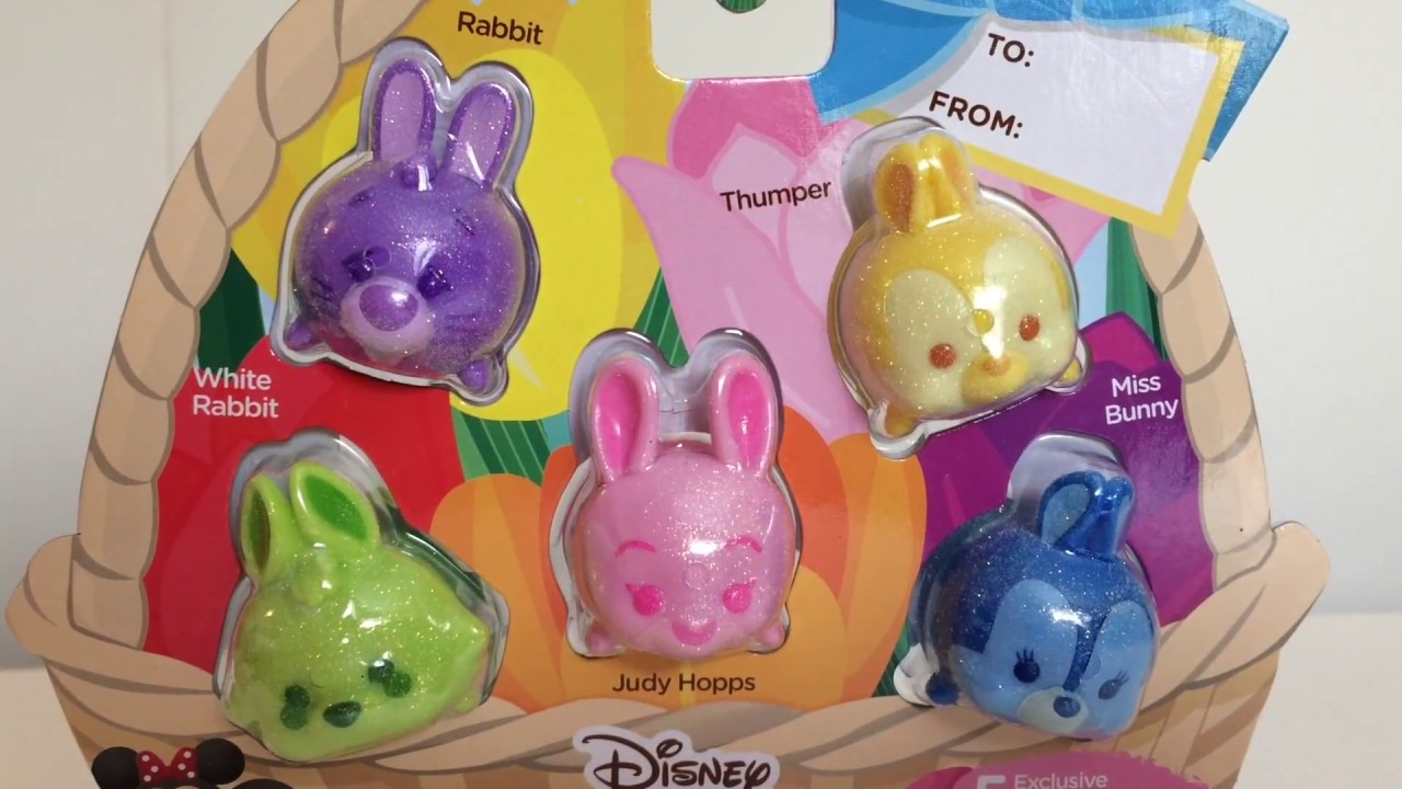 Disney TSUM TSUM Target Exclusive GLITTER Pastel Parade Easter Figure THUMPER
