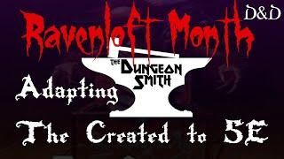 تكييف إنشاء 5e - Ravenloft الشهر
