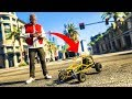 "EPIC RC CAR ""BUGGY MOD""! - (GTA 5 Mods Funny Moments)"