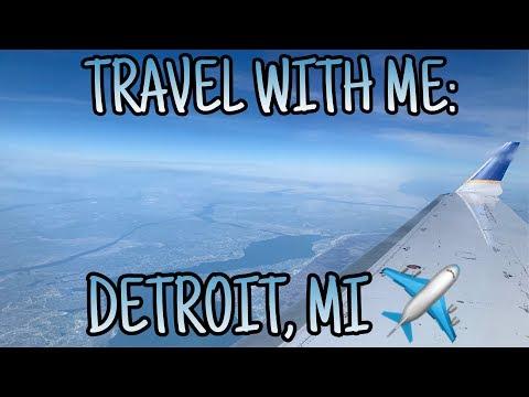 TRAVEL WITH ME: DETROIT, MI (Vlog #5)