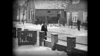 Super 8 film.Sneeuwpret in Rijssen.