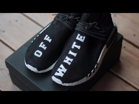 "HOW TO Custom Off-White x ""Pharrell Human Race"" NMD"