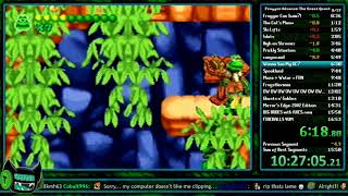 [WR] Frogger Advance: The Great Quest in 16:19 (Any%) [Speedrun]