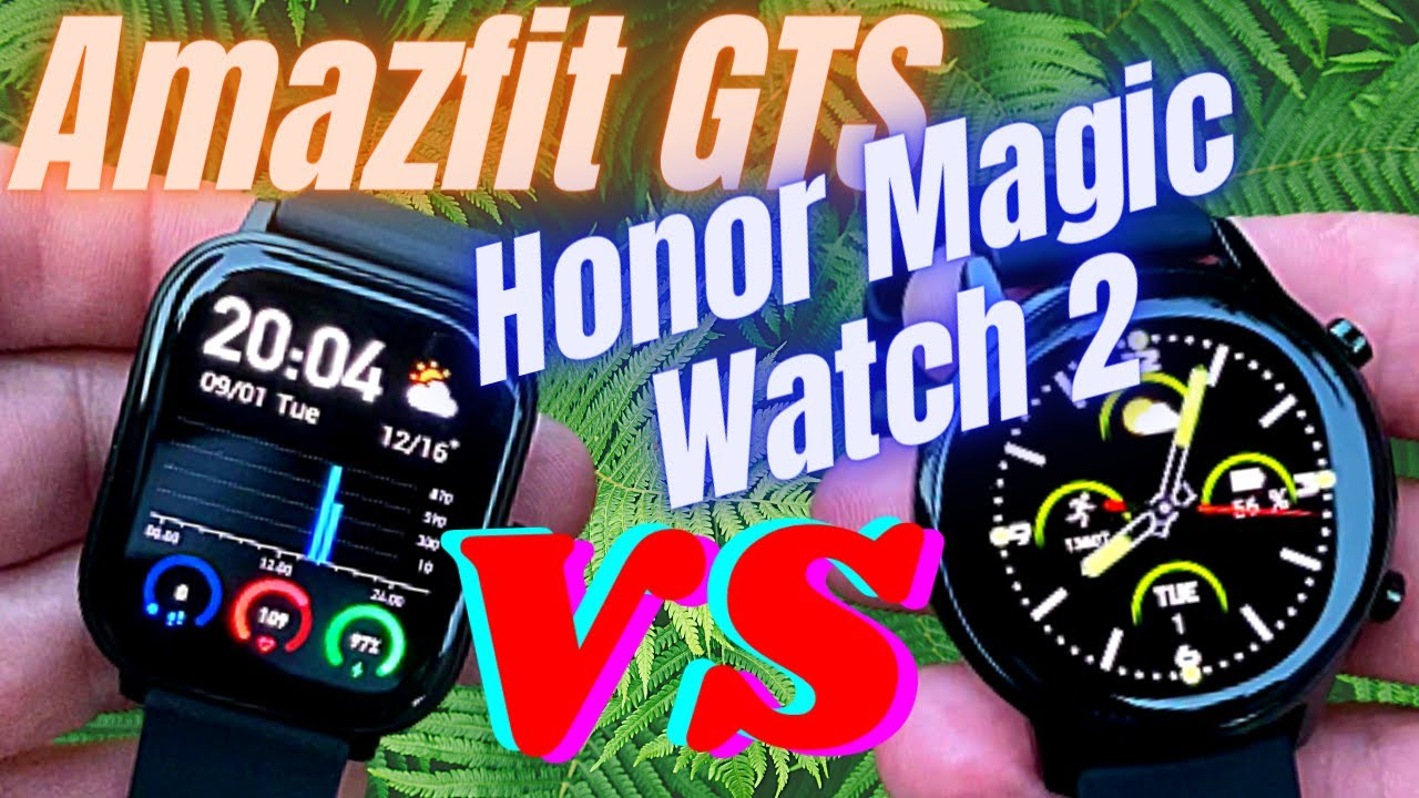 Amazfit Gts Vs Fitbit Versa 2 Review And Comparison Huami Amazfit Gts Vs Google Fitbit Versa 2 Youtube