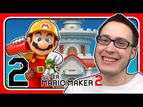 Livestream! Super Mario Maker 2 [Abenteuermodus] (Stream 2)