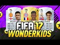 BIGGEST WONDER KIDS IN FIFA 17?!
