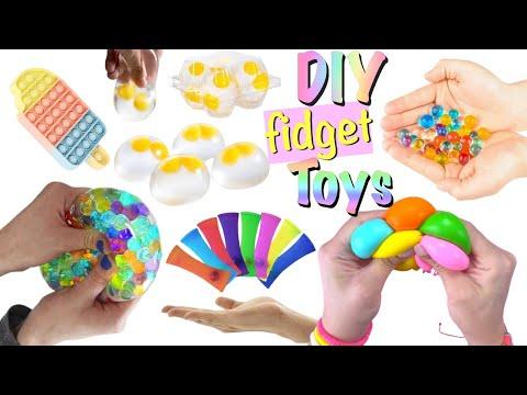 11 DIY Fidget Toys Ideas – Viral TIKTOK Fidget Toys Videos