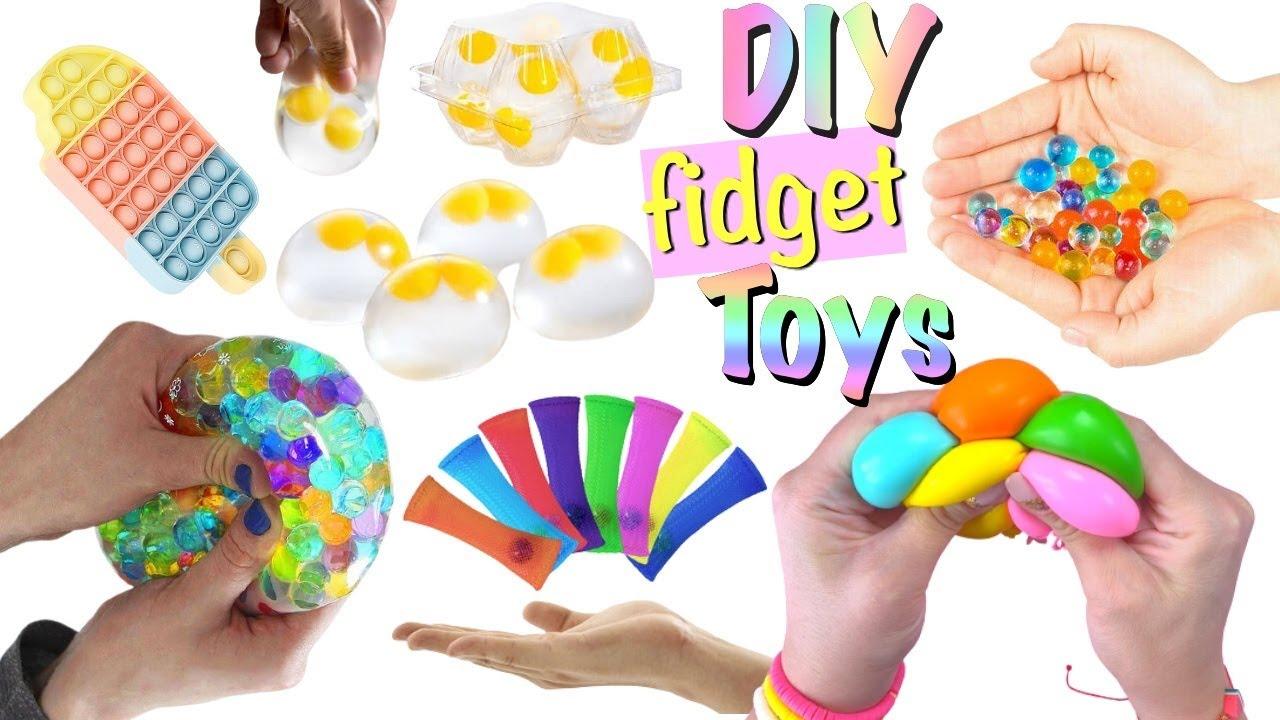 11 DIY Fidget Toys Ideas - Viral TIKTOK Fidget Toys Videos