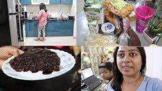 I'm so excited.....kuch mitha ho jay!!!!!! preparing chocolate cake