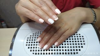 Маникюр на клиенте Простой дизайн ногтей Masura Miis