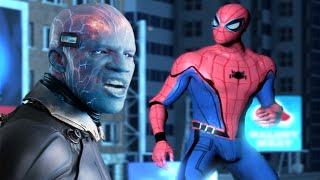 Homecoming Spiderman vs Electro - The Amazing Spiderman 2 (PC) MOD