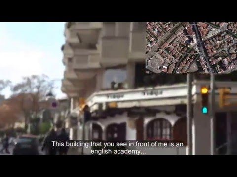 A guided tour through lleida | Exchange project | English - Spanish