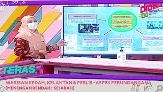 Teras (2021) | Menengah Rendah: Sejarah Warisan Kedah, Kelantan & Perlis – Aspek Perundangan