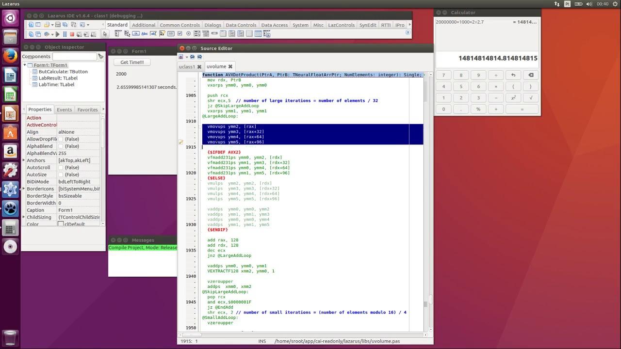 AVX and AVX2 Code Optimization