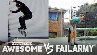 failarmy presents people are awesome fails vs wins 1