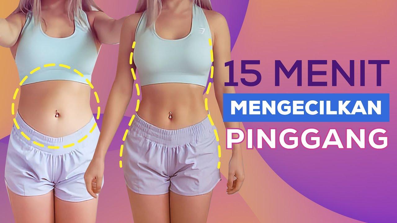 Cara Mengecilkan Perut Dan Pinggang Dalam 15 Menit! | Workout Pemula