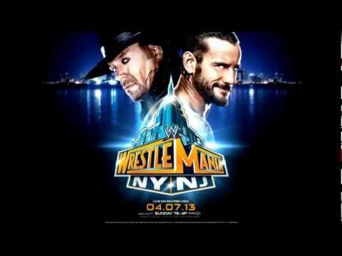 WrestleMania 29 theme song