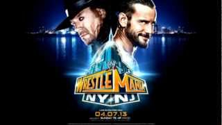 "WrestleMania 29 theme song  ""Bones,"" by Young Guns"