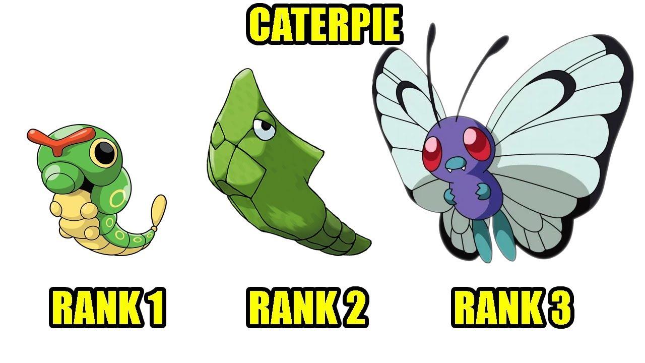 Pokemon – Sâu Nhỏ Caterpie Tiến Hóa Bướm Khổng Lồ – Top Game Hay PC, Android, Ios