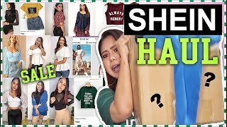 SHEIN HAUL | Best SALE Girls Clothing |Tops, Dresses TryOn | ThatQuirkyMiss