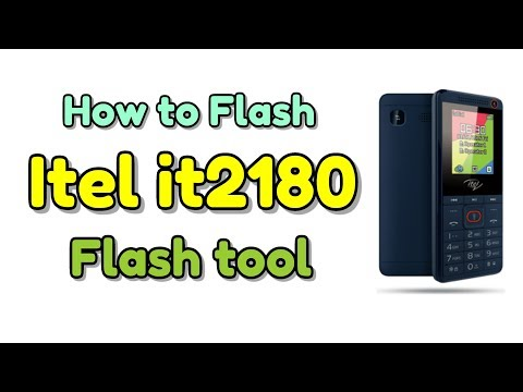 How to Flash Itel it2180 & Flash file or Flash tool | Hindi