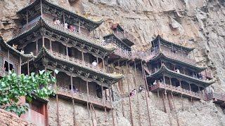 Monasterio Colgante de Hengshan (Xuankong Si)