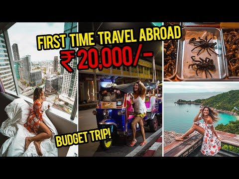 TRAVEL TRIP IN A BUDGET ! | BEST INDIAN BUDGET/SOLO TRIP TO THAILAND!