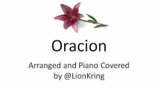 Oracion (Pokemon The Rise Of Darkrai Theme Song) Piano Cover