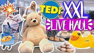 XXL TEDI LIVE HAUL! Ihr bestimmt & gewinnt!