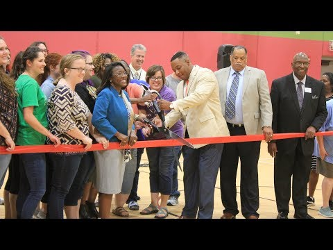 Highland Park Central - Ribbon Cutting Ceremony for New Storm Shelter/Gymnasium
