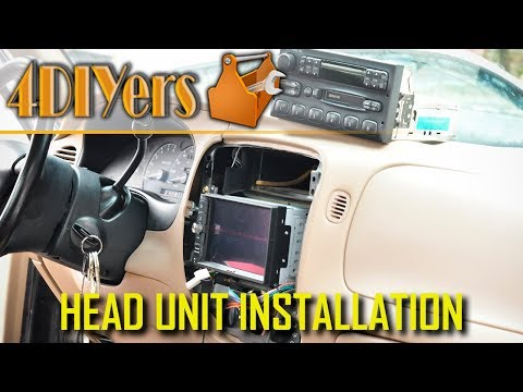 How to Install an Android Double Din Head Unit in a Ford Ranger